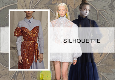 Vintage Revolution -- Silhouette Trend of Dresses
