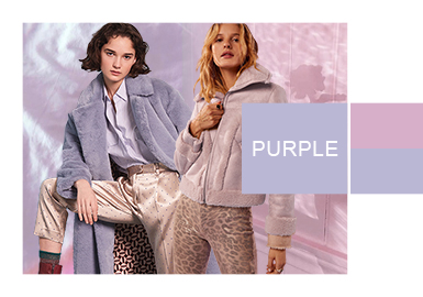 Purple Heather -- Color Evolution of Women's Fur