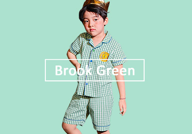 Brook Green -- S/S 2020 Single Color Trend for Boys
