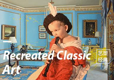 Recreated Classic Art -- Theme Trend for A/W 20/21 Kidswear