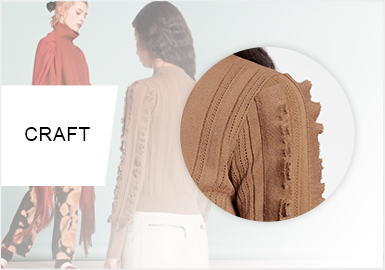 Sleeves -- Craft Trend of Women's Knitwear