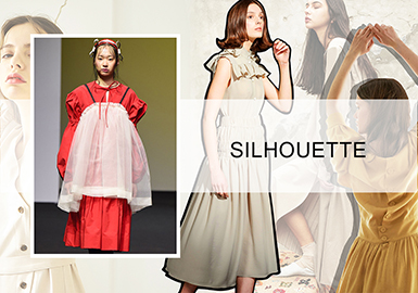 S/S 2020 Silhouette Trend for Dresses