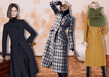 Simple & Sophisticated -- 20/21 A/W Silhouette Trend for Women's Coat