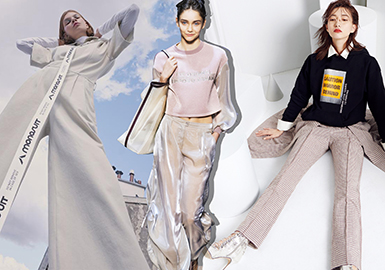 Cool Summer -- 2020 S/S Silhouette Trend of Women's Pants