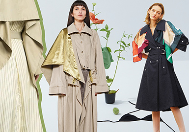 Spring Tour -- 2019 S/S Analysis of Designer Brand Trench Coats