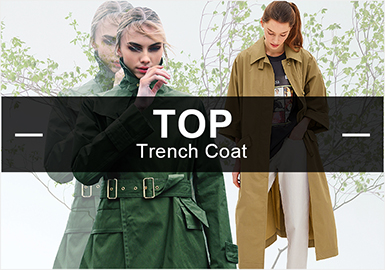 Trench Coats -- S/S 2019 Popular Items in Womenswear Markets