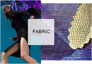Dynamic Technology -- Functional Knitted Fabric Trend for Womenswear