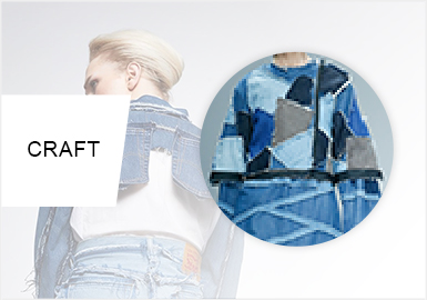 Fragments -- Cut Trend for Women's Denim
