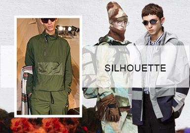 Light Sports -- Silhouette Trend of Men's Jackets