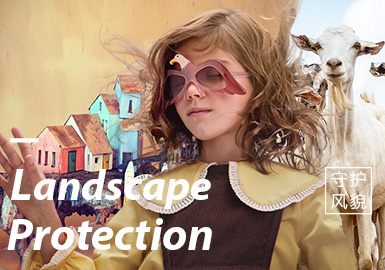 Landscape Protection -- Theme Trend for A/W 20/21 Kidswear