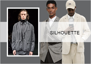 Renewed Leisure -- Silhouette Trend for Men's Suits