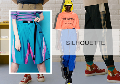 Fashionable and Sporty Trousers -- Silhouette Trend for Women's Trousers