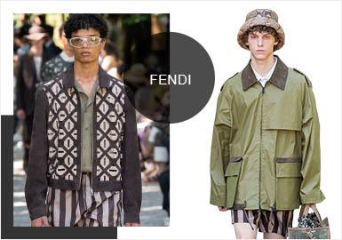 Garden Language -- Analysis of Fendi's Menswear Fur&Leather Show