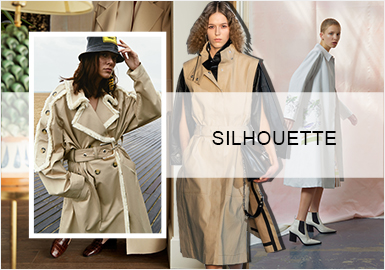 Subtle Minimalism -- Silhouette Trend for Women's Trench Coats