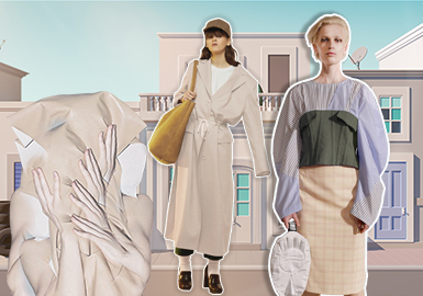 Industrial Khaki -- Theme Color Trend for Womenswear
