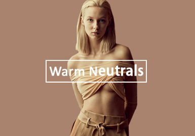 Warm Neutrals -- Theme Colors for Lingerie