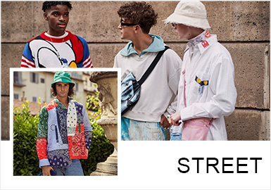 Mixing -- Comprehensive Analysis of Street Snaps in Fashion Weeks
