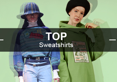 Sweatshirts -- Analysis of Popular Items in Womenswear Markets