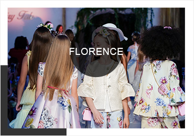 Renewed Vintage Elements -- Comprehensive Analysis of Kidswear in the Florence Fashion Week