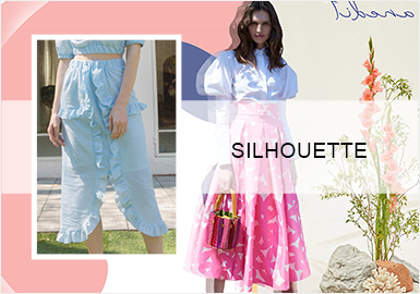 Girly Skirts -- Silhouette Trend for Women's Skirts