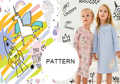 Unicorns -- Pattern Trend for Girlswear