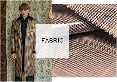 Updated Mixing -- Fabric Trend for Men's Business Leisure Outerwear
