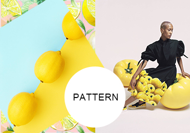 Fruits in the Summer -- Pattern Trend for Womenswear