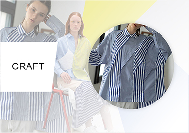 Varied Cuts -- The Cut Trend for Women's Shirts