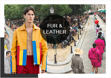 The Gender-Neutral Aesthetic -- Comprehensive Analysis of Catwalks on Men's Leather&Fur