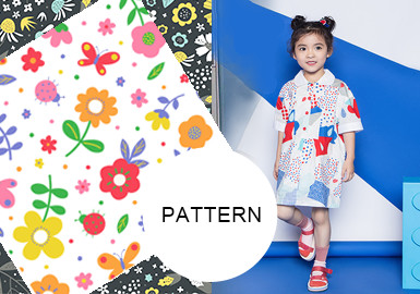All-Over Florals -- Pattern Trend for Girlswear