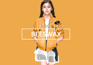 Beeswax -- Solid Color Trend for Girlswear