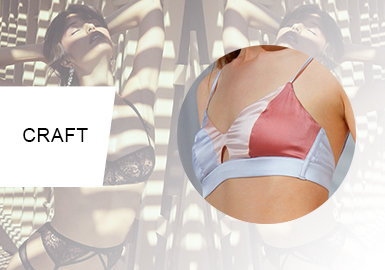 Soft Panelling -- Craft Trend for Lingerie