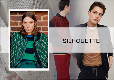 Simple Urban -- Silhouette Trend for Men's Knitwear