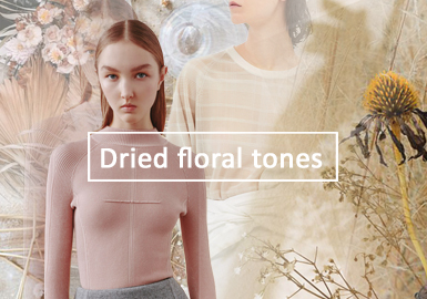 The Beauty of Dried Flowers -- The Thematic Color Trend for Women's Knitwear