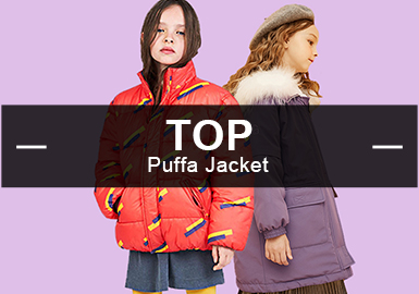 Puffa Jackets -- Analysis of Popular Girls' Items