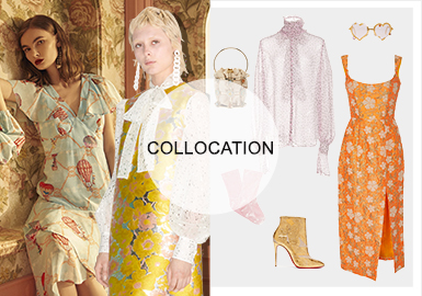 Sweetness -- The Clothing Collocation of Dresses