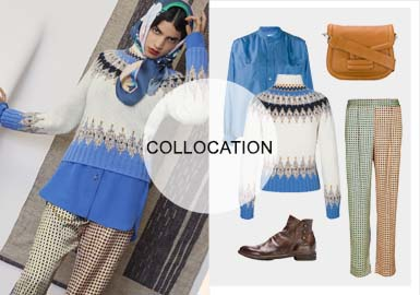 Modern Folk -- The Clothing Collocation of Women's Knitwear