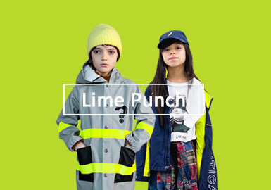 Lime Punch -- The Color Trend for Kidswear