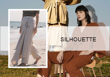 Delicacy -- The Silhouette Trend for Women's Pants