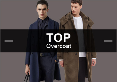 Overcoat -- Popular Items in Menswear Markets