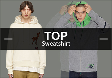 Sweatshirts -- Popular Items in Menswear Markets