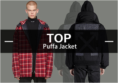 Puffa Jacket -- Hot Items in Menswear Markets