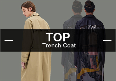 Trench Coat -- Popular Items in Menswear Markets