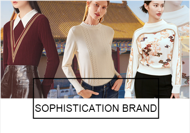 Elegant Sentiment -- The Comprehensive Analysis of Benchmark Brands for Women's Knitwear