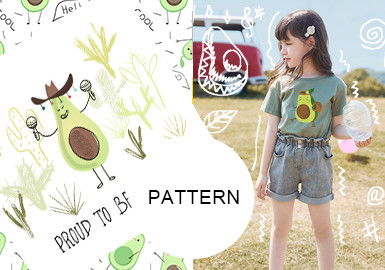 Dynamic Avocado -- The Pattern Trend for Kidswear