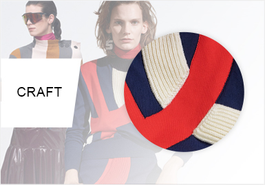 Color Blocking -- The Craft Trend for Women's Knitwear