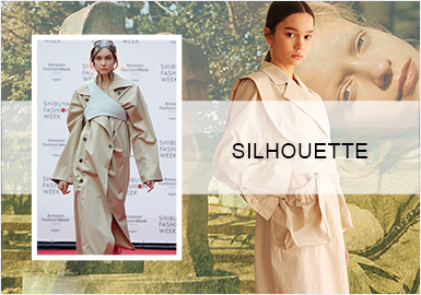 Iconoclast -- A/W 20/21 Silhouette Trend for Women's Trench Coats