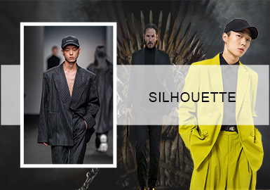 Office Art -- The Silhouette Trend for Men's Business Leisure Suits
