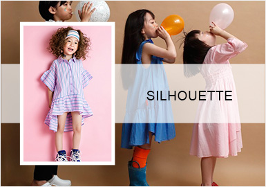 The Dress -- The Silhouette Trend for Girls' Dresses