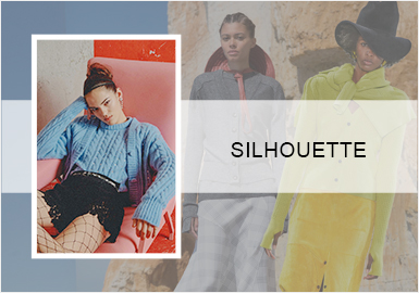 Layering -- The Silhouette Trend for Women's Knitwear